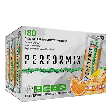 ISO Time-Released Recovery + Energy Citrus CoolerCitrus Cooler | GNC