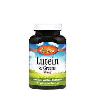 GNC Carlson Lutein & Greens - 20 mg