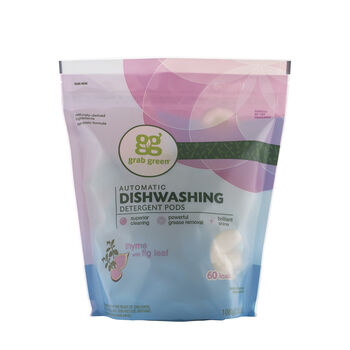 Automatic Dishwashing Detergent Pods - Thyme with Fig LeafThyme with Fig Leaf | GNC