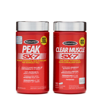 Pro Clinical Muscle Stack SX-7™ | GNC