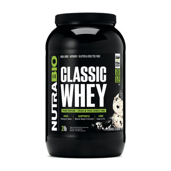 Classic Whey - Cookies and CreamCookies and Cream | GNC