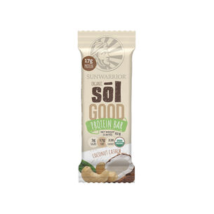 Organic Sōl Good Protein Bar - Coconut Cashew | GNC