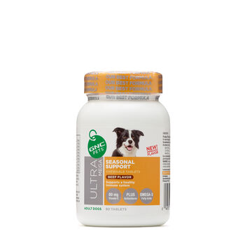 Ultra Mega Seasonal Support - All Dogs - Savory Beef | GNC