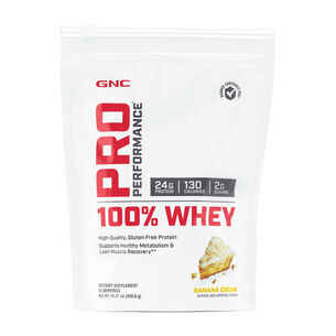 Pro Performance 100% Whey - Banana CreamBanana Cream | GNC