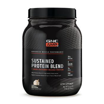 Sustained Protein Blend - Vanilla Milkshake   GNC