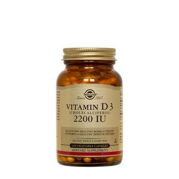 Vitamin D3 (Cholecalciferol) 55 mcg (2200 IU) | GNC