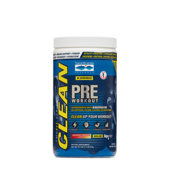 CLEAN PRE WORKOUT - Raspberry Lemonade | GNC
