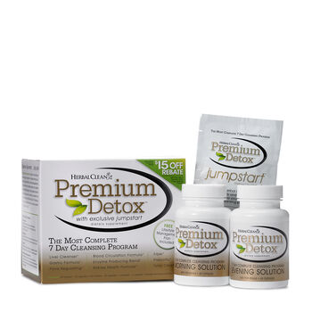 Premium Detox - 7 Day Complete Cleansing Program | GNC