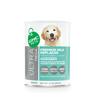 Ultra Mega Premium Milk Replacer Enriched Formula Powder | GNC