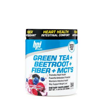 Green Tea + Beetroot + Fiber + MCT's - Berry SplashBerry Splash | GNC