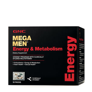 Mega Men® Energy & Metabolism (California Only) | GNC