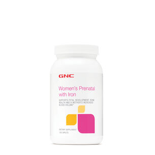GNC Women's Prenatal with Iron