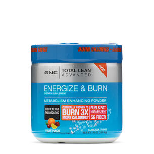 Energize & Burn - Fruit Punch | GNC