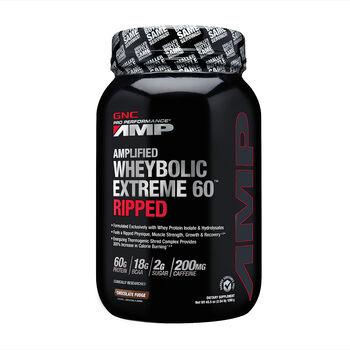 Amplified Wheybolic Extreme 60™ Ripped - Chocolate FudgeChocolate Fudge | GNC