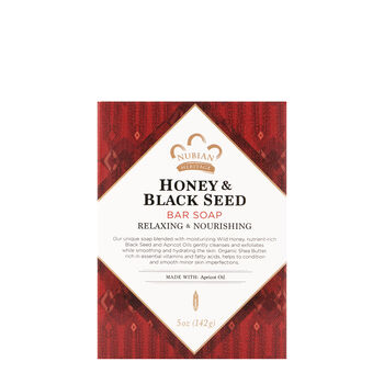 Bar Soap Honey & Black Seed with Apricot Oil   GNC