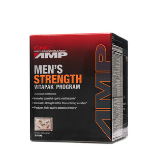 Men's Strength Vitapak® Program | GNC
