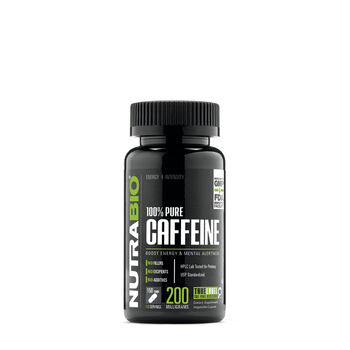100% Pure Caffeine - 200 mg   GNC