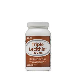GNC 트리플 레시틴 1200MG 90정 (혈액순환, 콜레스테롤 수치, 치매 예방, 노인 건강) GNC Triple Lecithin™ 1200 MG