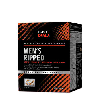 Men's Ripped Vitapak® Program with Metabolism Non-Stimulant Formula | GNC