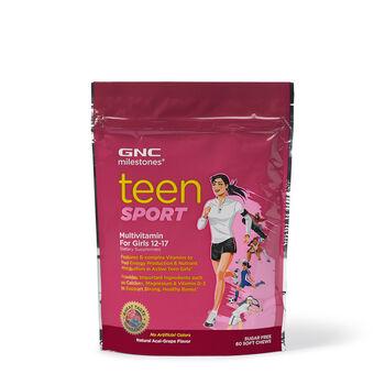 Teen Sport Multivitamin For Girls 12-17 - Acai-Grape   GNC