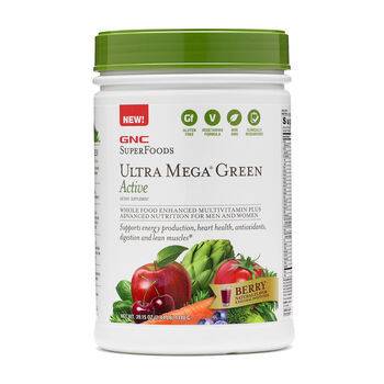 Ultra Mega® Green Active - Berry | GNC