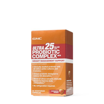Ultra Probiotic Complex 25 With Weight Management Support | GNC