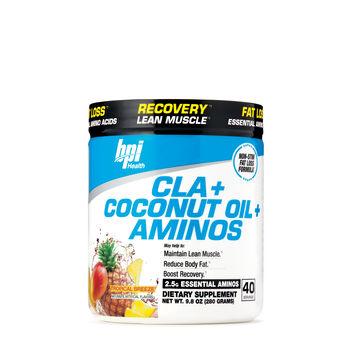 CLA + Coconut Oil + Aminos - Tropical BreezeTropical Breeze   GNC