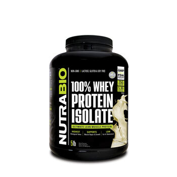 100% Whey Protein Isolate - UnflavoredUnflavored | GNC