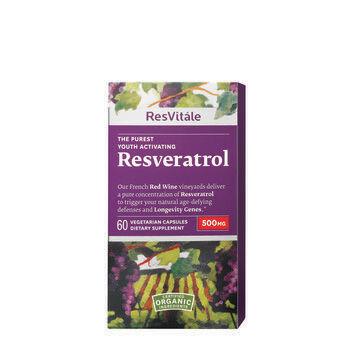 Resveratrol 500mg   GNC