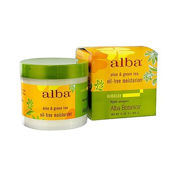 Alba Hawaiian Oil-Free Moisturizer Aloe & Green Tea | GNC