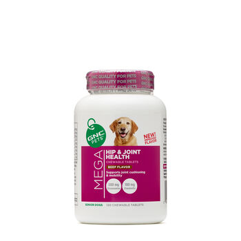 Mega Hip and Joint Health - Senior Dogs - Beef FlavorBeef Flavor | GNC