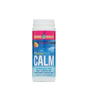 GNC Natural Vitality Natural Calm - Raspberry-Lemon