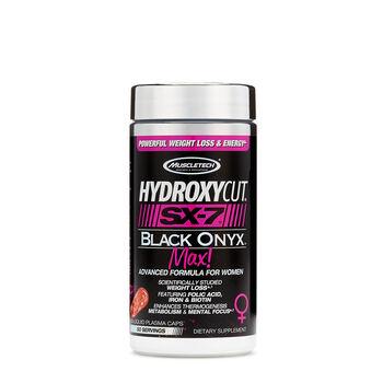 HydroxyCut® SX-7® Black Onyx™ Max! | GNC