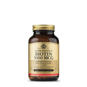 Super Potency Biotin 5000 mcg | GNC
