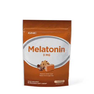 Melatonin 3 MG - Chocolate Chip Cookie Dough | GNC