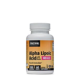 Alpha Lipoic Acid with Biotin - 100 mg | GNC