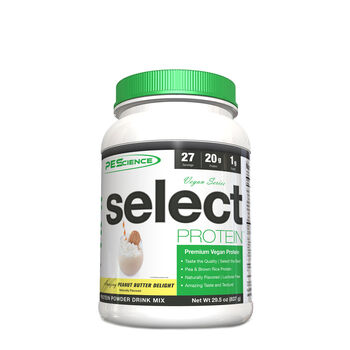 Vegan Series select PROTEIN - Amazing Peanut Butter DelightAmazing Peanut Butter Delight | GNC