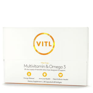 VITL Essentials – Multivitamin & Omega 3 | GNC