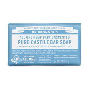 All-One Hemp Unscented Baby Pure-Castile Soap | GNC