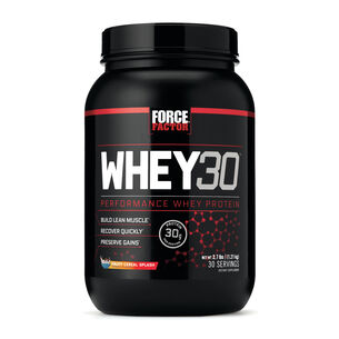 WHEY30 - Fruity Cereal Milk | GNC
