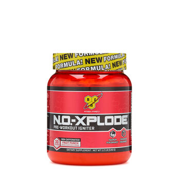 N.O.-XPLODE™ Pre-Workout Igniter - Fruit Punch - Non-CaffeinatedFruit Punch | GNC