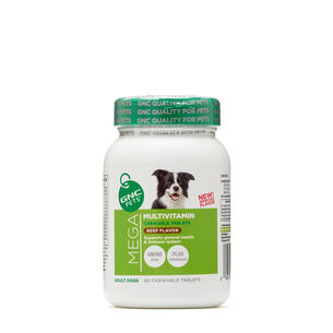 Mega Multivitamin - Adult Dogs - Beef FlavorBeef Flavor | GNC