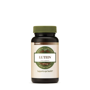 GNC Natural Brand™ Lutein 40mg