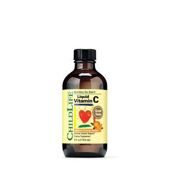 Liquid Vitamin C - Natural Orange Flavor | GNC