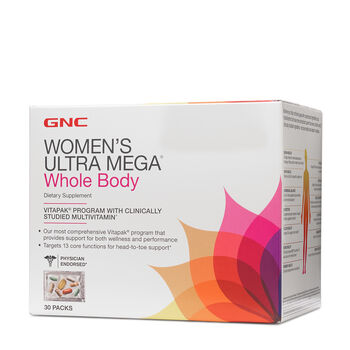 Ultra Mega® Whole Body Vitapak® Program | GNC