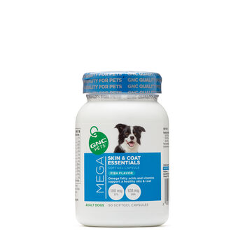 Mega Skin and Coat Essentials - Adult Dogs - Fish Flavor | GNC