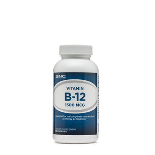 GNC 비타민B Vitamin B-12 1500 MCG