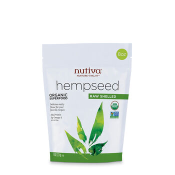 Organic Hempseed - Raw Shelled | GNC