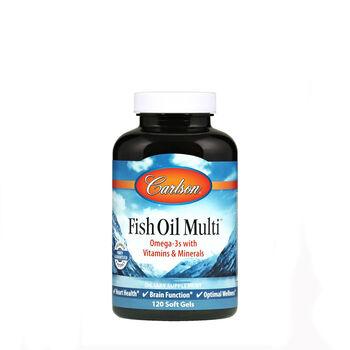Fish oil multi for Fish oil gnc