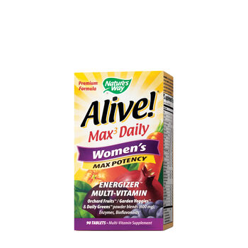 Alive!® Max3 Daily - Women's Max Potency | GNC